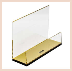 Lund London Acrylic Letter Rack