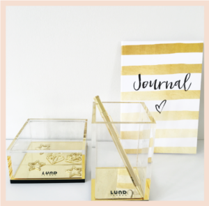 Lund London Acrylic Storage Box
