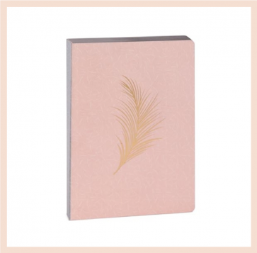 Artebene - Pink & Gold Notebook (A6)