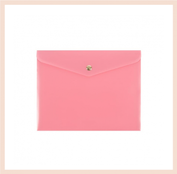 Artebene - Pink Document Wallet (A5)