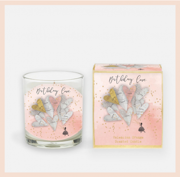 'Birthday Love''  Candle