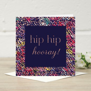 Stephanie Dyment- 'Hip Hip Hooray' Card