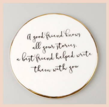 Ceramic Coaster - Friends