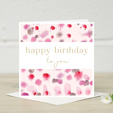 Stephanie Dyment- 'Happy Birthday' Card