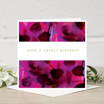 Stephanie Dyment- 'Have a Lovely Birthday'  Card