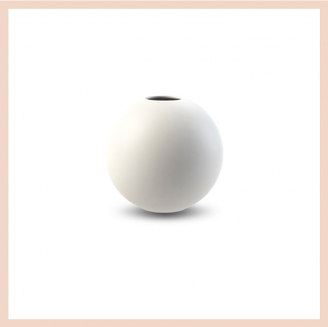 Cooee Design - Ball Vase (10cm White)