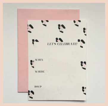 Dear to Me Studio - Let's Celebrate Invitations
