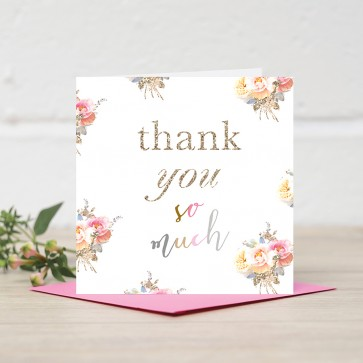 Stephanie Dyment - 'Thank You So Much' Card