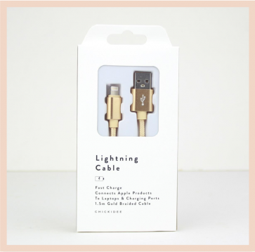 Charging Cable - Lightning (Gold)