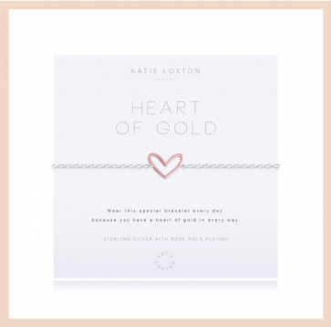 Katie Loxton - Heart of Gold Bracelet