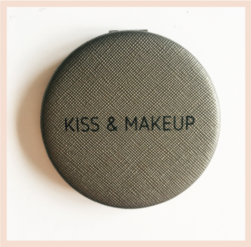 Kiss & Make Up - Pocket Mirror