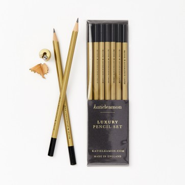 Katie Leamon - Gold Pencil Set