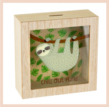 Money Box - Sloth Chill Out Fund