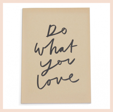 Old English Co - 'Do What You Love' Notebook (A4)