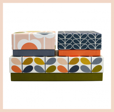 Orla Kiely -  Storage Box (set of 3)