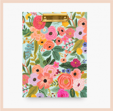 Rifle Paper Co - Garden Party Clipfolio
