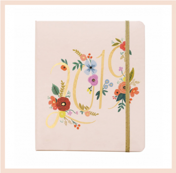 Rifle Paper Co - 2019 Bouquet Planner/Diary
