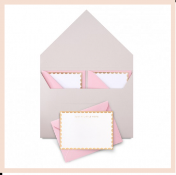 StudioSarah London - Luxe Notelet Set of 10