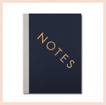 StudioSarah London - Notes Notebook (13 x 18 cm)