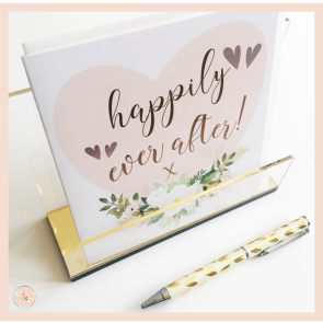 Stephanie Dyment- 'happily ever after' Card