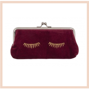 Closed Eyes Make Up Bag