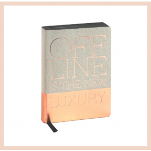 Artebene - Offline is the New Luxury Notebook (A6)