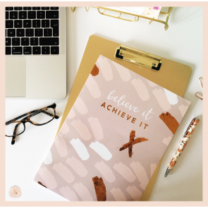 Believe it Achieve it - A4 Notebook