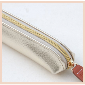 Caroline Gardner - Gold Metallic Essential Pencil Case