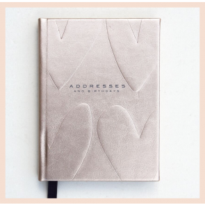 Caroline Gardner-  Metallic Address & Birthday Book