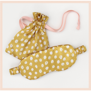 Caroline Gardner Scribble Spot Eye Mask