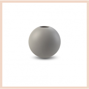 Cooee Design - Ball Vase (10cm Grey)