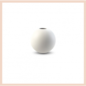 Cooee Design - Ball Vase (8cm White)