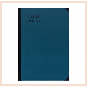 Darling Clementine Folder - Petrol Blue