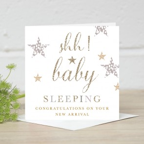 Stephanie Dyment- Baby Sleeping  Card