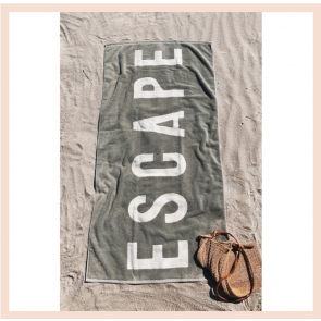 Forestbound ESCAPE Towel - Sage