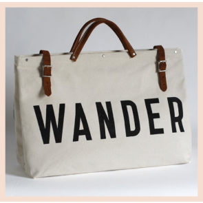 Forestbound WANDER Canvas Utility Bag - Natural