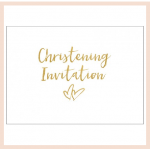 Christening Invitations - Set of 8 cards