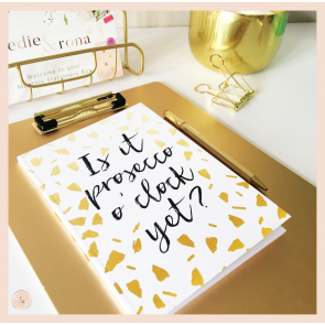 Is it Prosecco O'Clock Yet? Notebook