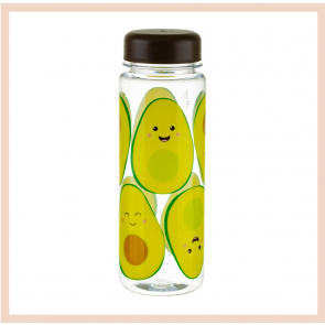 Happy Avocado Water Bottle