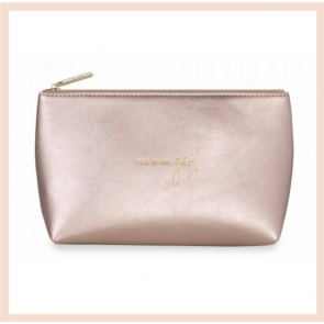 Katie Loxton Make Up Bag - 'You Glow Girl'