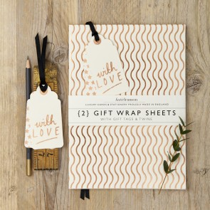 Katie Leamon - Copper Wave Wrapping Paper