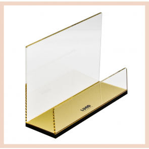 Lund London Gold Letter Rack