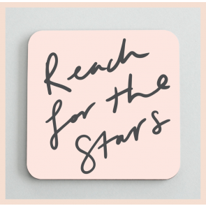 Old English Co - 'Reach for the Stars' Coaster