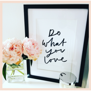 Old English Co - 'Do What You Love' Print (A4)