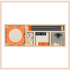 Orla Kiely -  Wooden Office Set