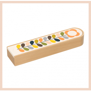 Orla Kiely -  Wooden Pencil Box