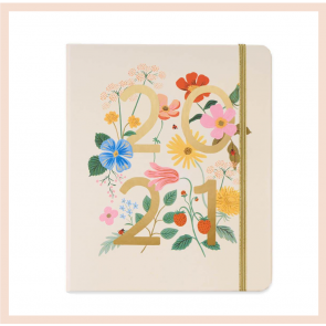 Rifle Paper Co - 2021 Wild Flowers Planner
