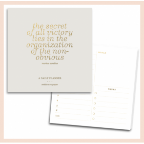 Smitten on Paper - Organisation Notepad