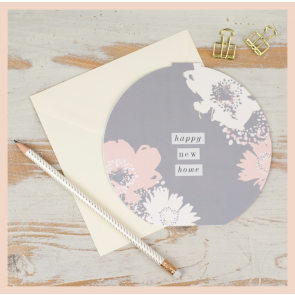Studio Seed 'Happy New Home' Circular Card