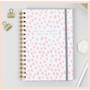 Studio Seed 'Capable of Amazing Things' Notebook (A5)